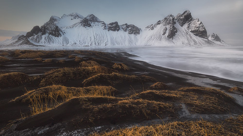 Vestrahorn mountains at Stokksnes beach in Iceland | by Alfredo.Ruiz