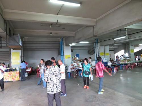 タイの競馬場内にある食堂