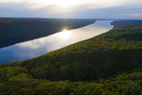 wednesday humpday fingerlakes skaneateles life nature landscape aerial sun sunset beautiful peace peaceful green lush growth growing lake forest woods preserve hike hiking awesome cny 2018 drone drones dji