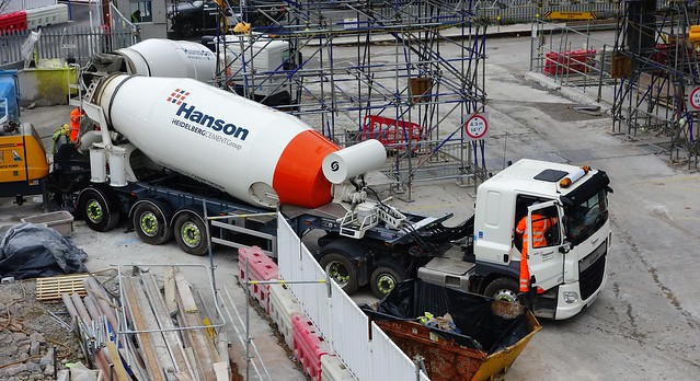 Heidelburg Cement Group Cement Mixer Mercedes Benz Actros YF17 OXU