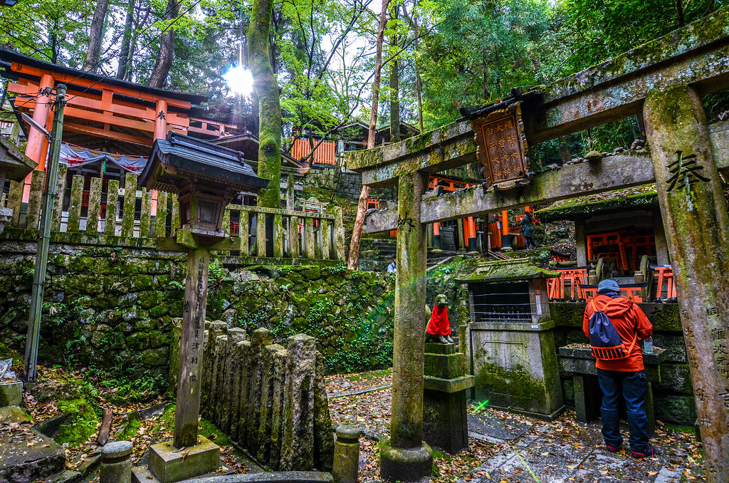Fushimi Inari green shrine stop