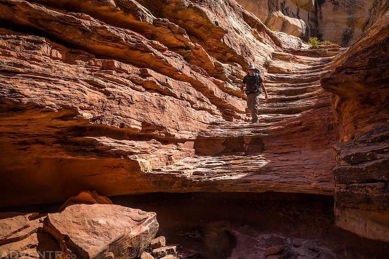 Coming Down Bullet Canyon