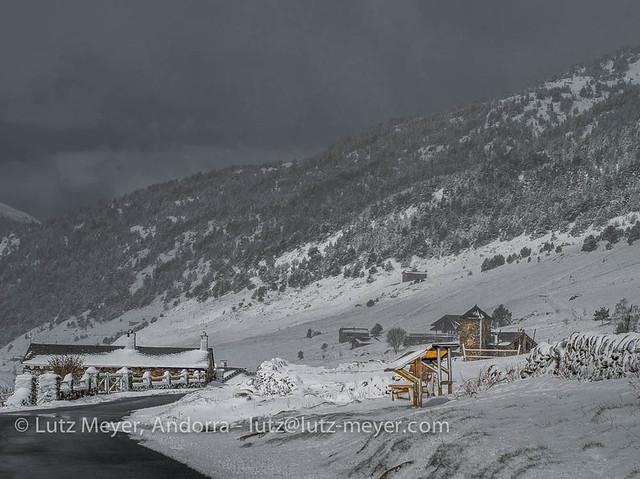 Andorra rural nature: Canillo, Vall d'Orient, Andorra