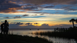 Sunset over Lake Washington   by Michael Seeley