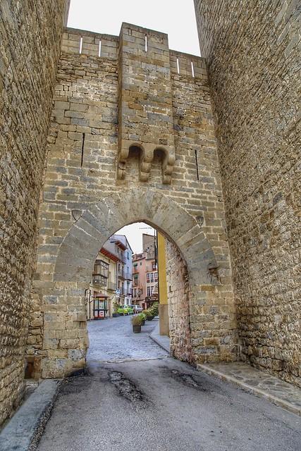 Entrance to Morella. Castellon, Spain