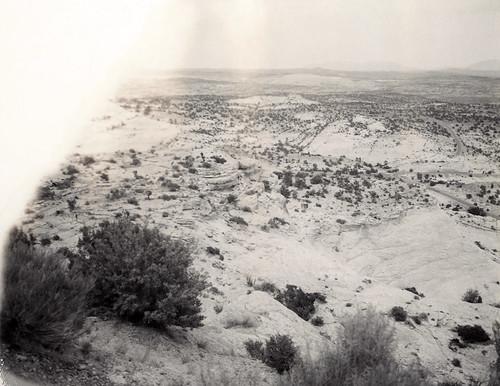escalante slickrock rock desert geology utah film polaroid 664 automatic250