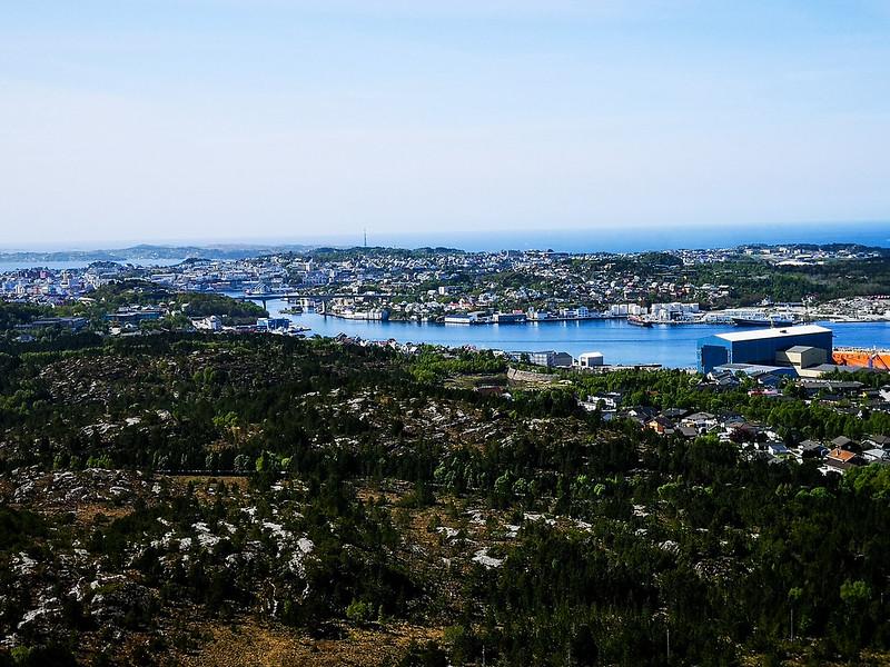 53-Utsikt over Kristiansund fra Kvernberget