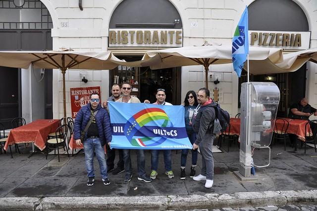 Vigilanza Roma 4 Maggio