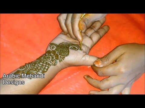 Easy Arabic Mehandi Designs For Full Hands Simple Weddin