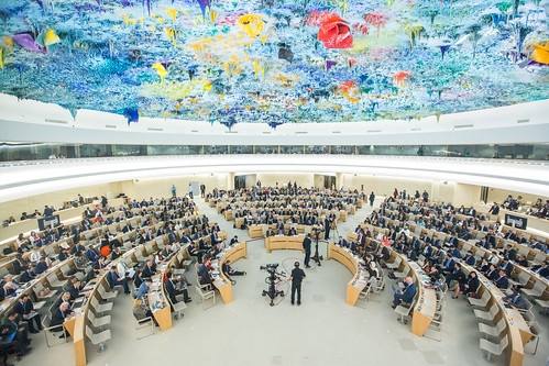 Human Rights Council special session on the situation in Palestine | by UN Geneva