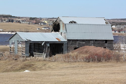 upperbouctouche newbrunswick canada old barn