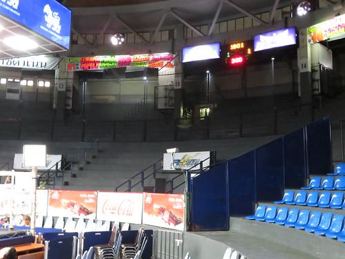 ラジャダムナン・スタジアムのセカンドクラス席とサードクラス席