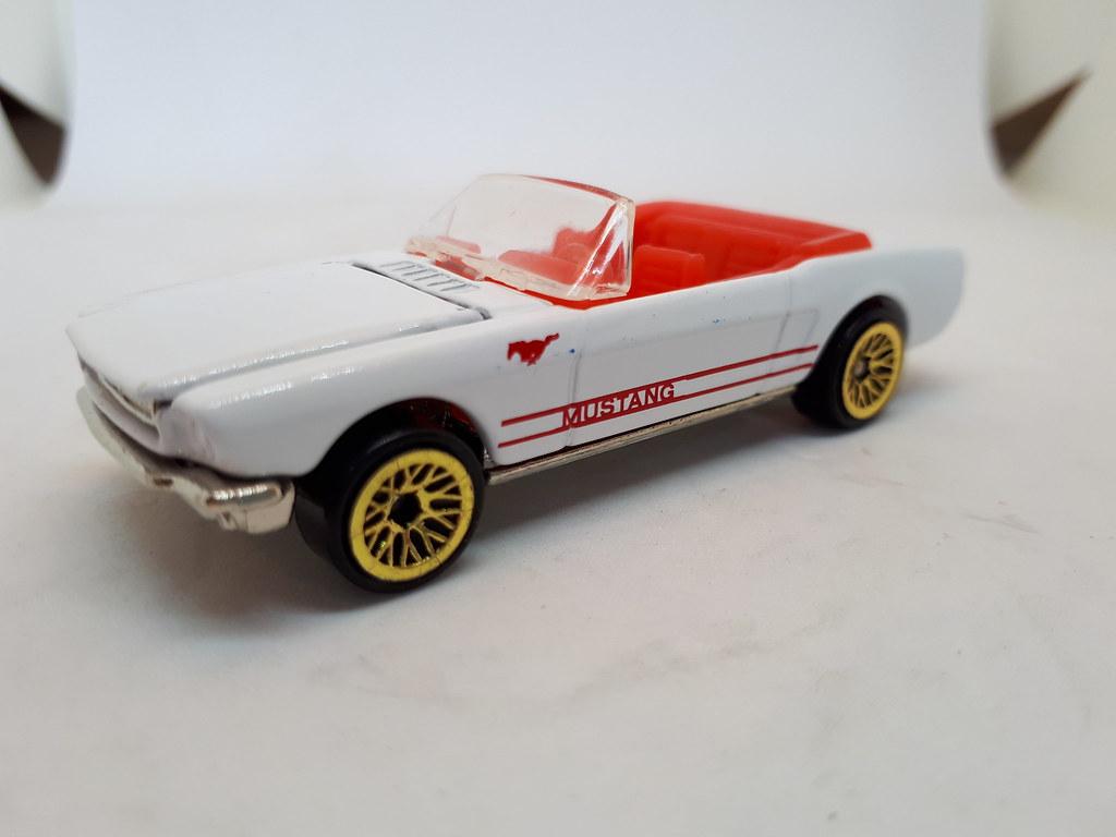 Hot wheels 1965 ford mustang convertible no2 1 64 by ambassador84 over 13 million