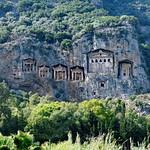 Kaunos rock tombs