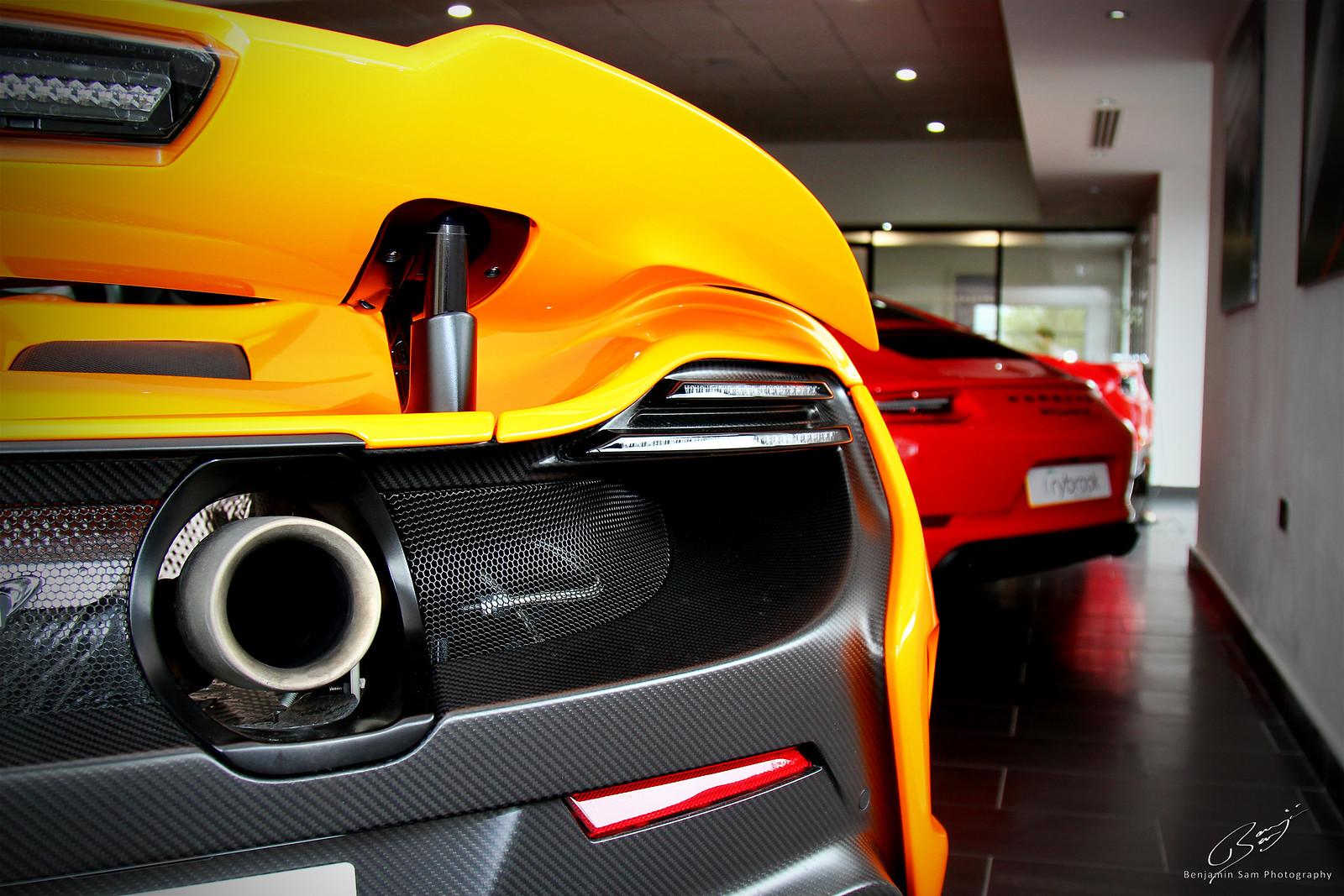 McLaren 675LT & Porsche 911