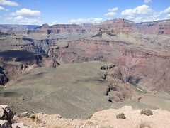 Grand Canyon - South Kaibab Trail, at Skeleton Point - Colorado River
