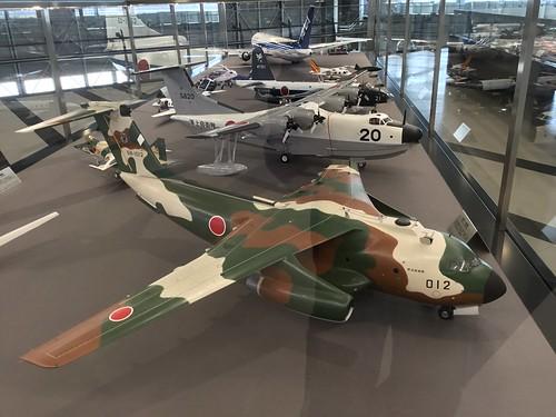 あいち航空ミュージアム 名機百選 C-1 PS-1 P-2J 模型 A4EDB204-7CC7-4D59-8293-227835C64BF6