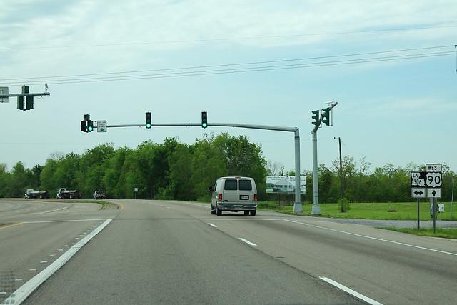 US90 West - LA306 Signs