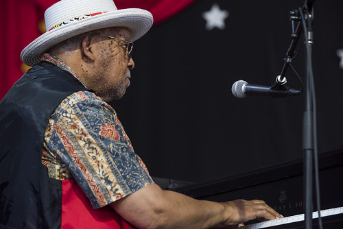 Ellis Marsalis during Jazz Fest Day 7 on May 5, 2018. Photo by Ryan Hodgson-Rigsbee RHRphoto.com