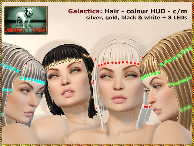 Bliensen - Galactica - Hair
