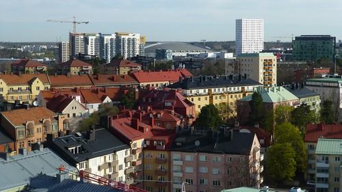 solna arenastaden råsunda friendsarena qualityhotelfriends view utsikt stockholm sweden