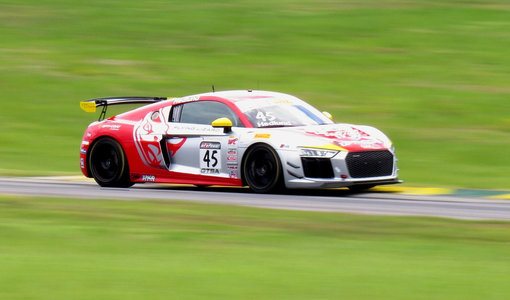 competitive price 508e8 a5d55 ... Flying Lizard Motorsports Audi R8 LMS GT4, GTS SprintX at PWC GP of  Virginia