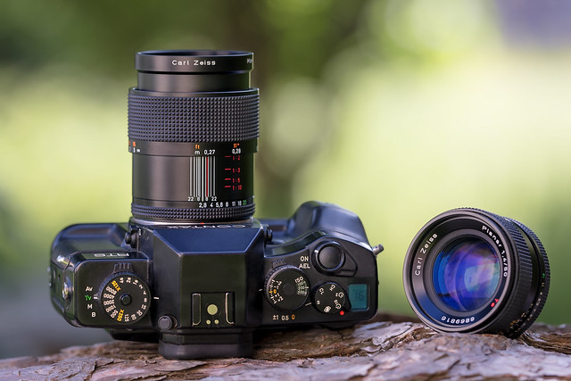 Contax RTS III & Zeiss Makro-Planar C 60mm ƒ/2.8 T* & Zeiss Planar 50mm ƒ/1.4 T*