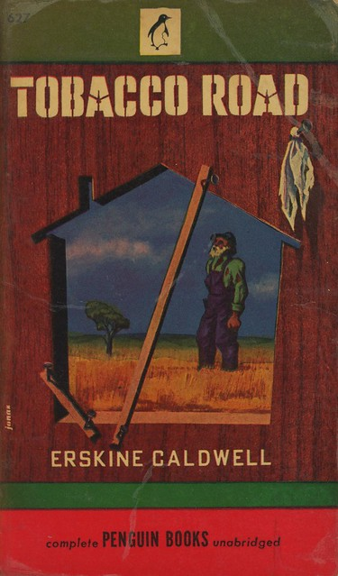 Penguin Books 627 - Erskine Caldwell - Tobacco Road