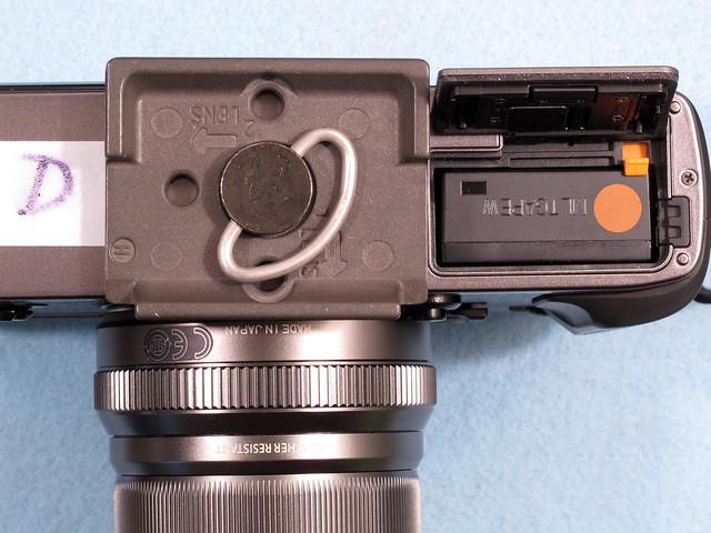 Fuji X-Pro2 tripod socket