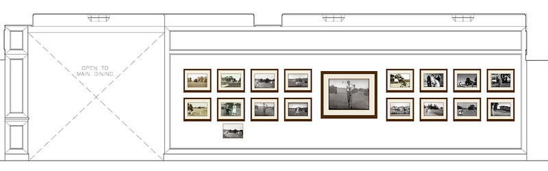 Oval Bar Layout design schematic