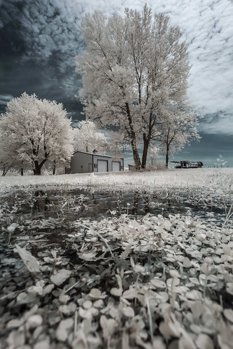 Rural Farm Infrared | by Notley Hawkins