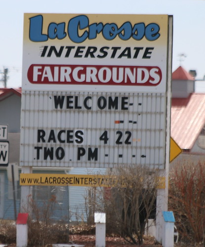 4.22.18 La Crosse Fairgrounds Speedway - Sign | by royal_broil