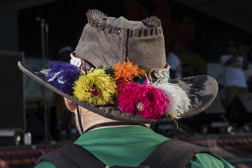 Hat on Jazz Fest day 1 on April 27, 2018. Photo by Ryan Hodgson-Rigsbee RHRphoto.com