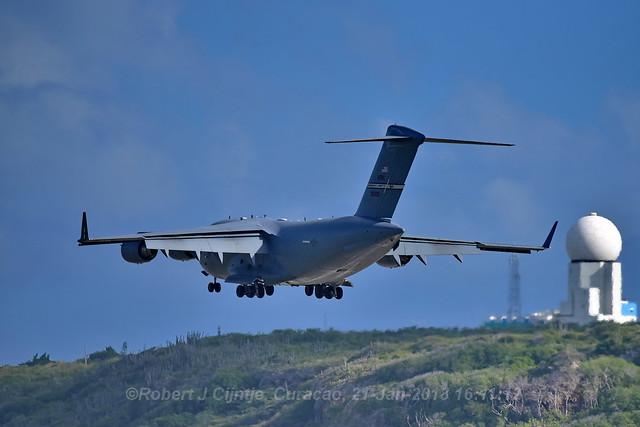 USAF, Boeing C17A, Globemaster III, 93-0603
