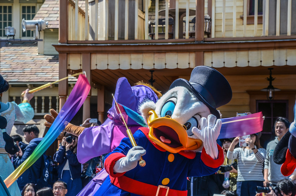 Scrooge Mcduck Dream Up TDL
