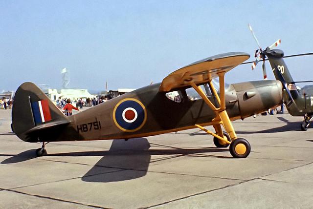G-BCBL   (HB751) Fairchild UC-61K Argus [989] RAF Bassingbourn~G 28/05/1978