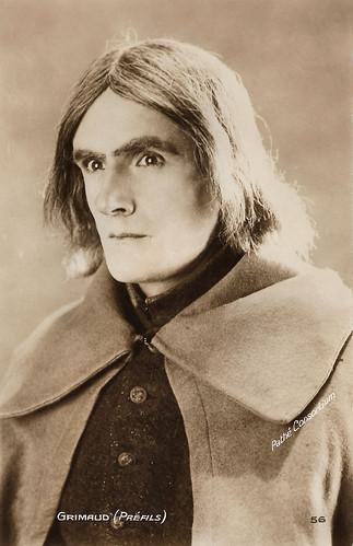 Louis Pré Fils in Vingt ans après (1922)