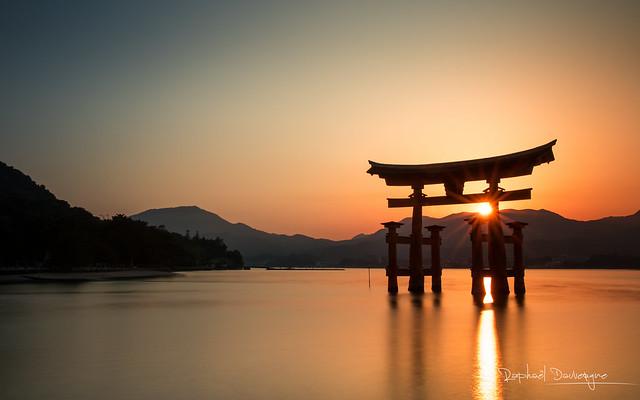 Sunset over Miyajima
