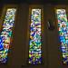 vidriera interior Basilica iglesia San Cristobal Charleroi Belgica 02