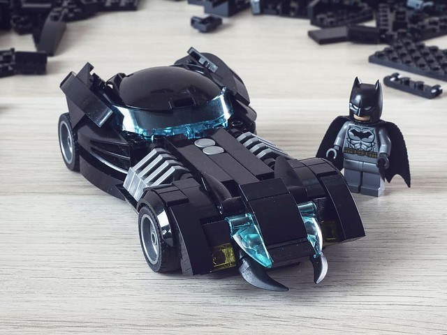 The new 52 Batmobile