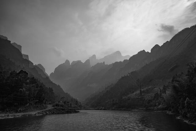 The hike to Tianmen