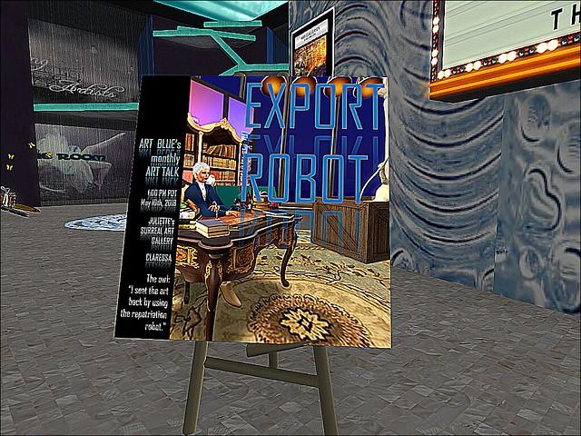 Surreal Gallery - Export Robot