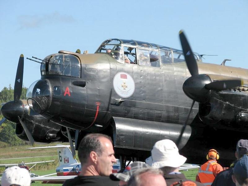 Lancaster Bomber VRA 3