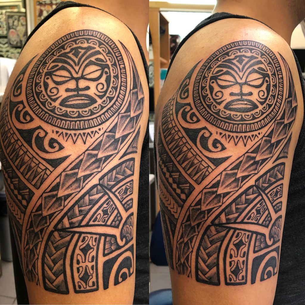 maori #tattoo #peterstattoodstudio #tats #bina #peterstat… | Flickr