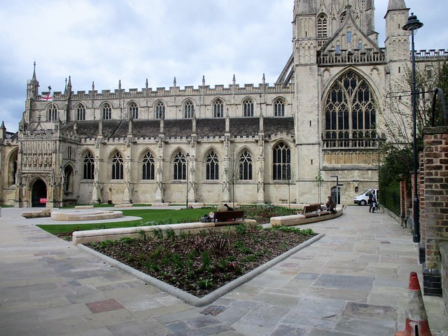 The new Cathedral Green