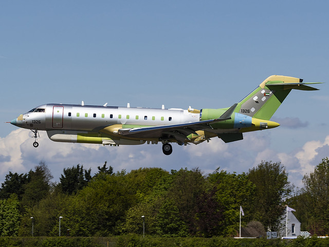 United Arab Emirates Air Force | Bombardier BD-700-1A10 Global 6000 | 1326