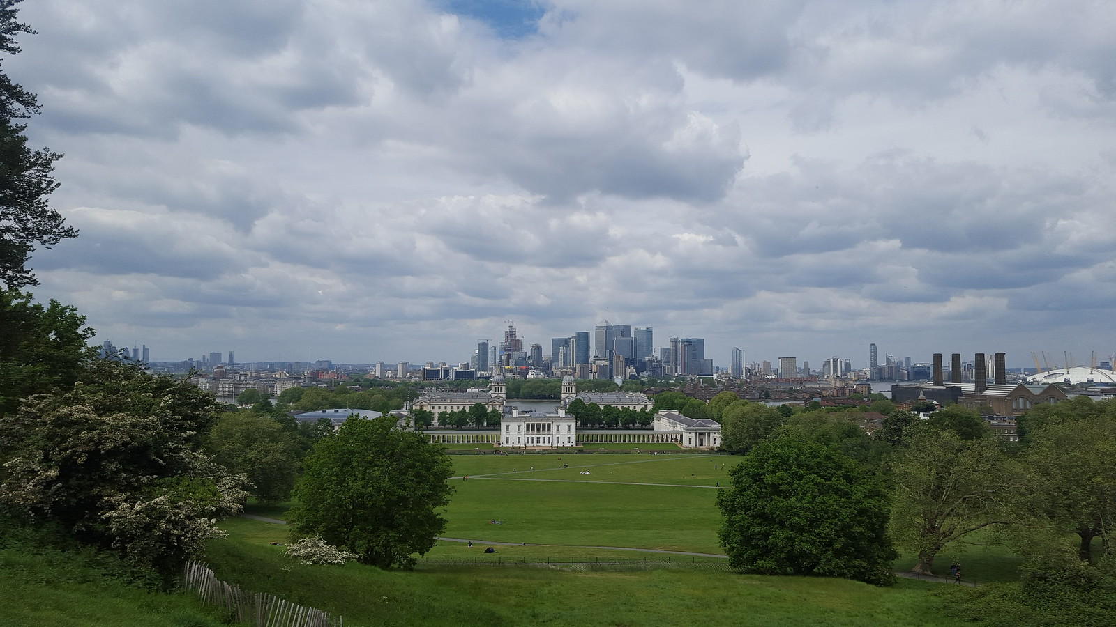 Blackheath to Canary Wharf walk