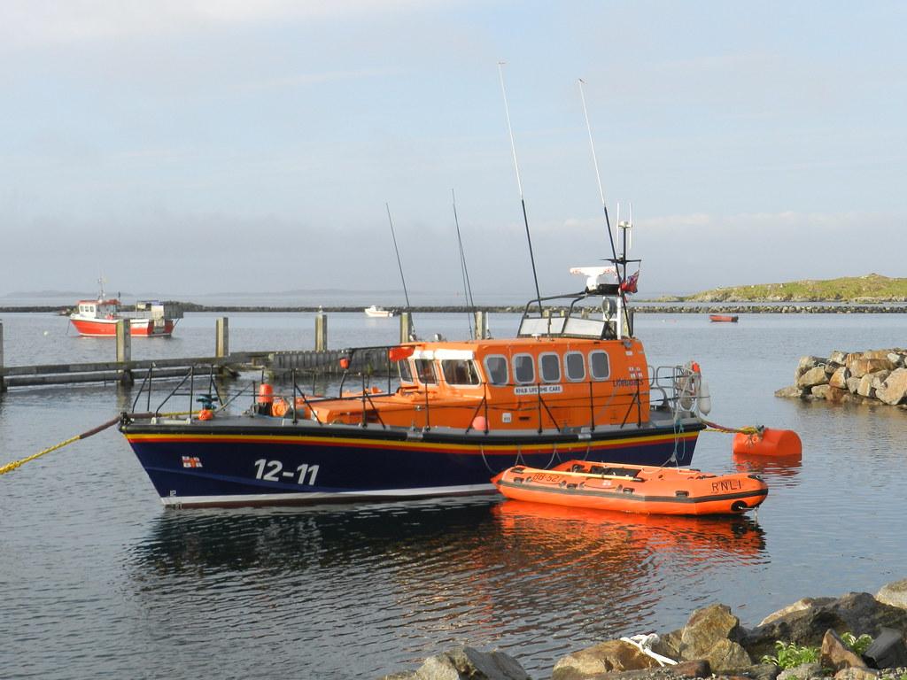 Leverburgh Lifeboat, Isle of Harris, August 2012
