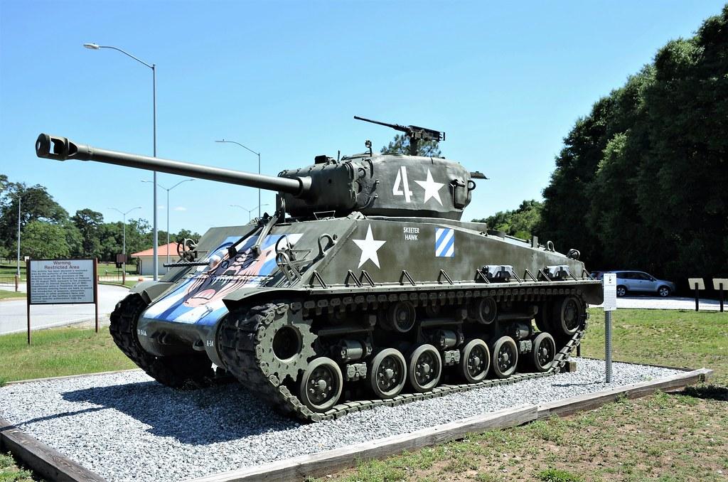 M4A3E8, Sherman Tank, U  S  Army, Fort Benning, Georgia   Flickr