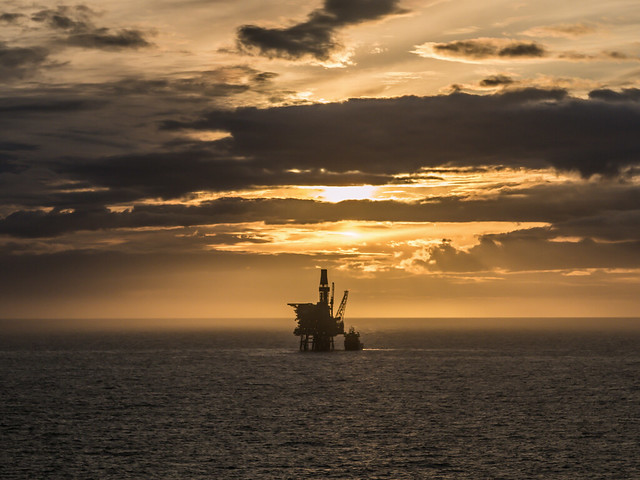 Offshore Sunset
